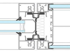 Schema Trannwand System 2000